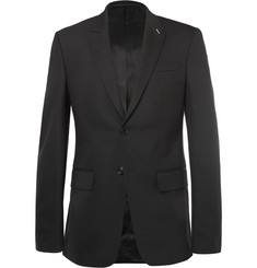 Givenchy - Black Slim-Fit Wool-Blend Suit Jacket