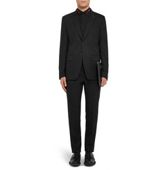 Givenchy Black Slim-Fit Wool-Blend Suit Jacket