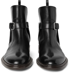 Givenchy - Leather Jodhpur Boots