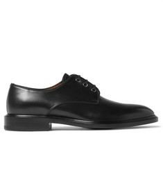 Givenchy Polished-Leather Derby Shoes
