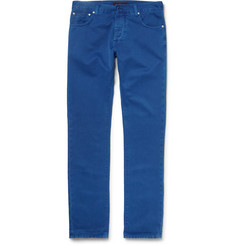 Isaia - Slim-Fit Selvedge Denim Jeans