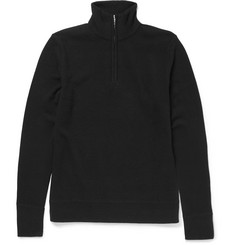 Rag & bone - Nathan Merino Wool Half-Zip Sweater