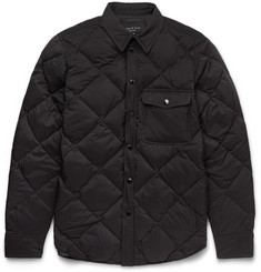 Rag & bone - Mallory Quilted Shell Down Shirt Jacket
