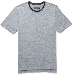 Rag & bone Jax Mélange Knitted Cotton T-Shirt