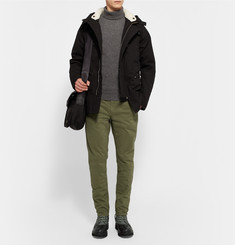 Rag & bone - Spencer Canvas and Leather Duck Boots