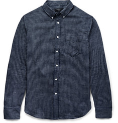 Rag & bone - Yokohama Slim-Fit Checked Brushed-Cotton Shirt