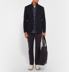 Rag & bone Yokohama Slim-Fit Checked Brushed-Cotton Shirt