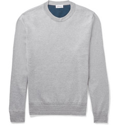 Brioni Stretch Cotton and Silk-Blend Sweatshirt