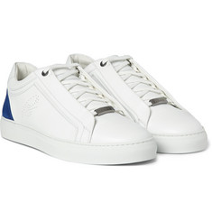 Brioni - James Leather and Suede Sneakers
