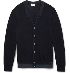 Brioni Slim-Fit Wool, Silk and Cashmere-Blend Cardigan