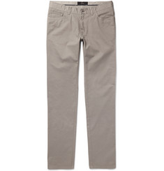 Brioni Slim-Fit Stretch-Cotton Chinos