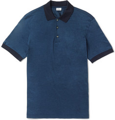 Brioni Linen and Silk-Blend Polo Shirt