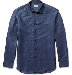 Brioni - Linen and Cotton-Blend Shirt