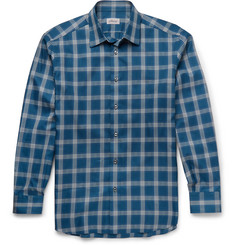 Brioni - Checked Cotton Shirt