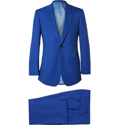 Lutwyche Blue Wool Suit