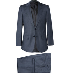 Lutwyche Navy Nailhead Super 130s Wool Suit