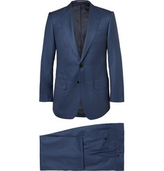 Lutwyche Navy Puppytooth Super 170s Wool Suit