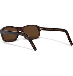Kingsman Cutler and Gross Square-Frame Tortoiseshell Acetate Sunglasses