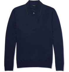 Paul Smith London - Merino Wool Polo Shirt