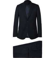Paul Smith - London Navy A Suit To Travel In Soho Wool Suit