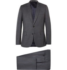 Paul Smith London Grey Soho Slim-Fit Checked Wool Suit