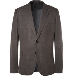 Paul Smith London - Grey Soho Slim-Fit  Wool-Hopsack Blazer