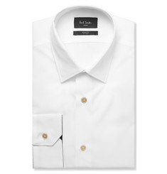 Paul Smith London White Soho Slim-Fit Cotton-Poplin Shirt