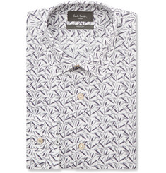 Paul Smith London Soho Slim-Fit Leaf-Print Cotton Shirt