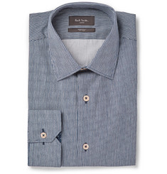 Paul Smith London Soho Striped Cotton-Poplin Shirt