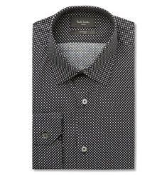 Paul Smith - London Soho Slim-Fit Star-Print Cotton Shirt