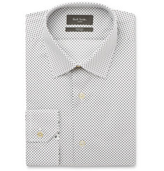 Paul Smith London Soho Slim-Fit Star-Print Cotton Shirt