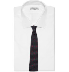 Paul Smith London Polka-Dot and Heart Silk-Faille Tie
