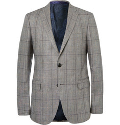 Etro - Prince of Wales Checked Silk Suit Jacket