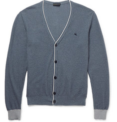 Etro Slim-Fit Cotton and Cashmere-Blend Cardigan