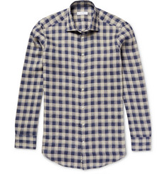 Etro - Mercurio Slim-Fit Checked Linen Shirt