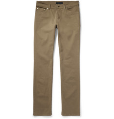 Etro - Slim-Fit Stretch Cotton-Twill Trousers