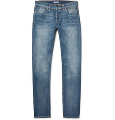 Michael Bastian Skinny-Fit Washed Selvedge Stretch-Denim Jeans