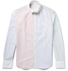 Michael Bastian Slim-Fit Button-Down Collar Striped Cotton Oxford Shirt