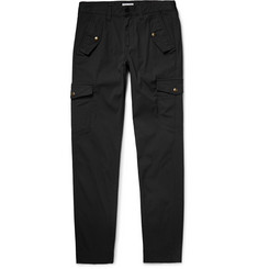 Michael Bastian - Slim-Fit Stretch-Cotton Canvas Cargo Trousers