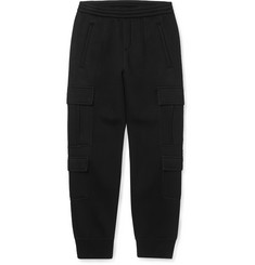 Neil Barrett Tapered Bonded-Jersey Cargo Trousers