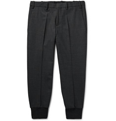 Neil Barrett Tapered Woven Trousers