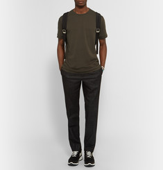 Neil Barrett Printed Slub Cotton-Jersey T-Shirt
