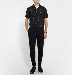 Neil Barrett Slim-Fit Printed Cotton Shirt