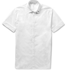 Neil Barrett Printed Cotton-Poplin Shirt