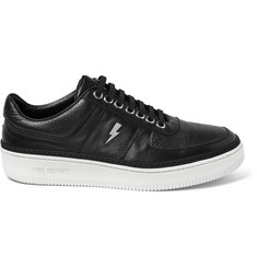 Neil Barrett Leather Sneakers