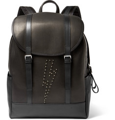 Neil Barrett Studded Leather Backpack
