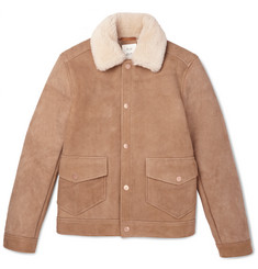 Billy Reid Dunavant Shearling Jacket