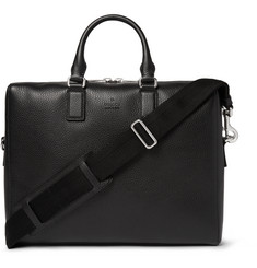 Gucci Grained-Leather Briefcase