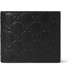 Gucci - Embossed Leather Billfold Wallet