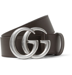 Gucci - 4cm Chocolate Leather Belt